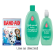 Save $1.25 when you buy BOTH (1) BAND-AID® Brand Adhesive Bandages featuring DISNEY® FROZEN AND (1) JOHNSON'S® NO MORE TANGLES® product.